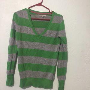 Striped sweatshirt top